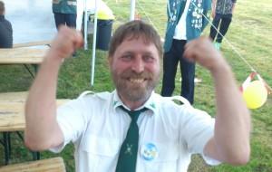 Gewinner Majestätenpokal Hans-Georg Wetzel