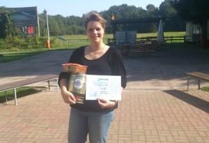 Dritter Platz Anja Wetzel Halbautomaten 2015