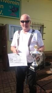 Wanderpokalsieger Norbert Lembke aus Barth