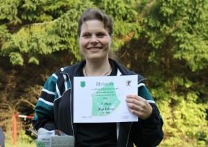 zweite Anja Wetzel Pokal 40 Jahre Schießstand 2015