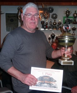 Sieger Flintenlaufgeschosspokal 2015 Heino Martens