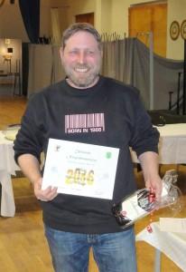 Hans Georg Wetzel 3. Klasse A Neujahrsmeisterschaft 2016 beim PSV Grimmen
