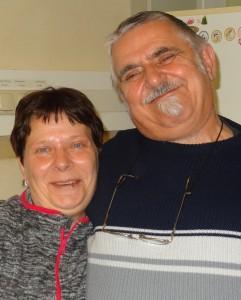 Kantinenteam Astrid und Gerhard