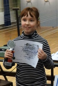 Laura Jens von derNieparser SG Pokalwettkampf Luftdruck 2016