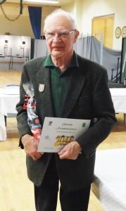 Neujahrsmeister Gerd Niemann 2016 beim PSV Grimmen