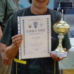 1. Platz Damenklasse Kirsten Dunker Landesmeisterschaft Jagdverband Mecklenburg Vorpommern 2016