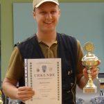 1. Platz Juniorenklasse Hendrik Pischke Landesmeisterschaft Jagdverband Mecklenburg Vorpommern 2016
