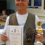 2. Platz Seniorenklasse Manfred Geisler Landesmeisterschaft Jagdverband Mecklenburg Vorpommern 2016